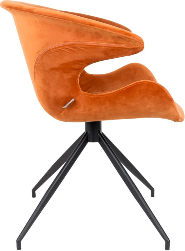 Armstoel Mia Orange modern design uit de Zuiver meubel collectie - 1200149