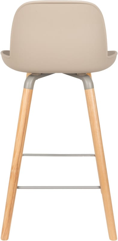 Barstoel Albert Kuip Taupe modern design uit de Zuiver meubel collectie - 1500055