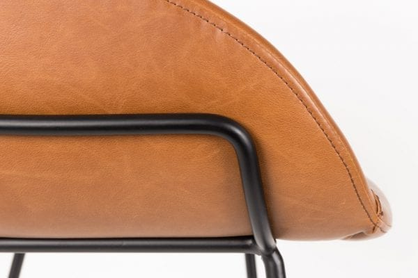 Barstoel Feston Brown modern design uit de Zuiver meubel collectie - 1500048