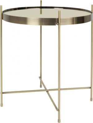 Bijzettafel Cupid Gold modern design uit de Zuiver meubel collectie - 2300079