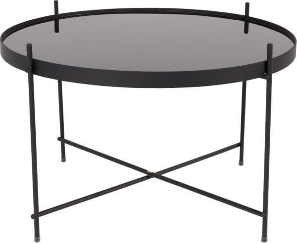 Bijzettafel Cupid Large Black modern design uit de Zuiver meubel collectie - 2300051
