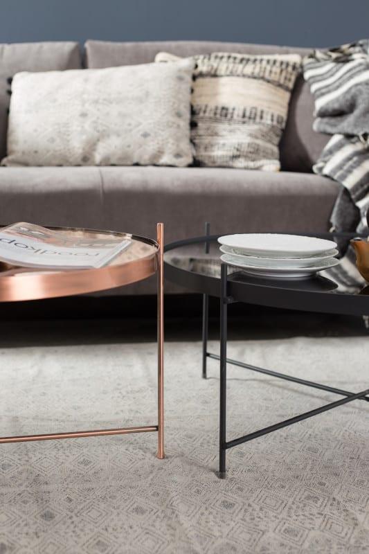 Bijzettafel Cupid Large Copper modern design uit de Zuiver meubel collectie - 2300049