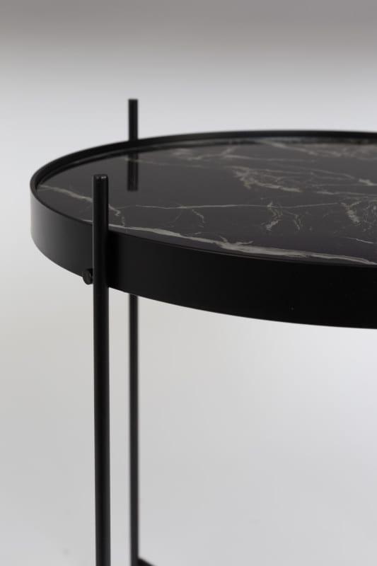 Bijzettafel Cupid Marble Black modern design uit de Zuiver meubel collectie - 2300080