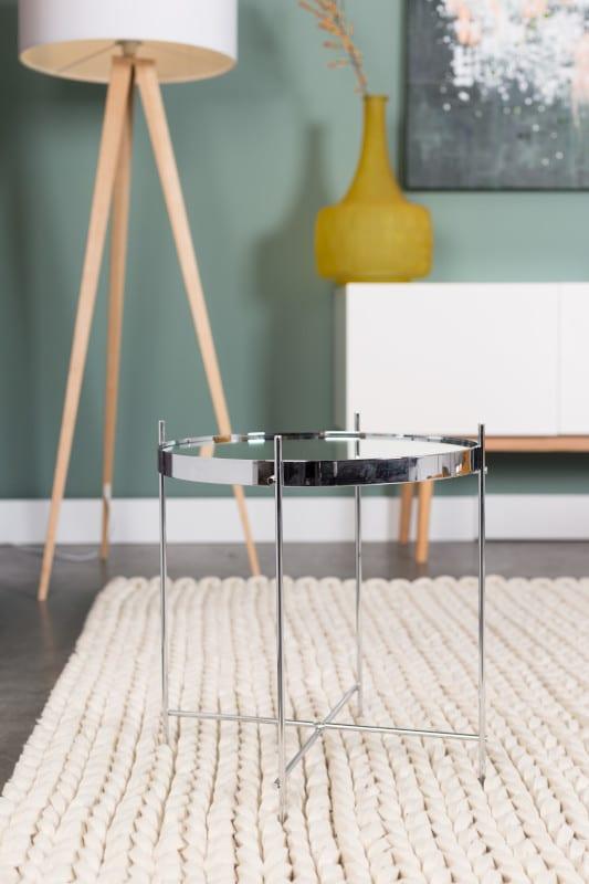 Bijzettafel Cupid Silver modern design uit de Zuiver meubel collectie - 2300039