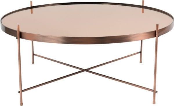 Bijzettafel Cupid Xxl Copper modern design uit de Zuiver meubel collectie - 2300050