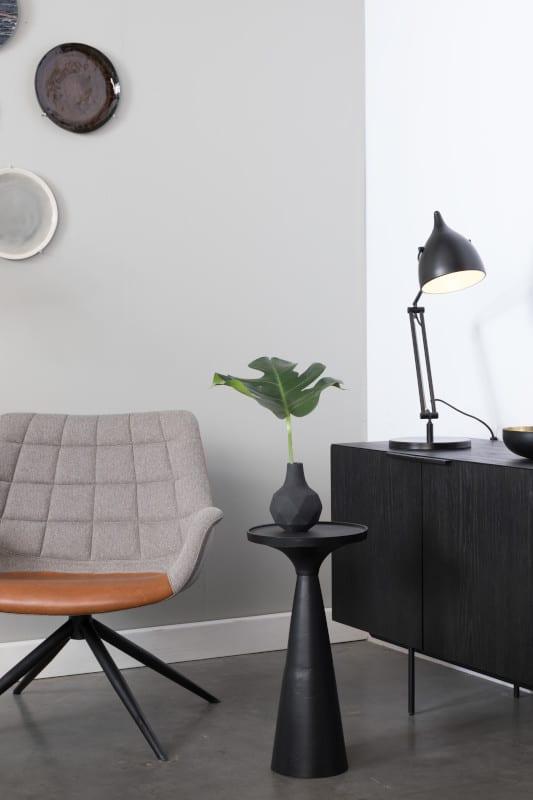 Bijzettafel Floss Black modern design uit de Zuiver meubel collectie - 2300143