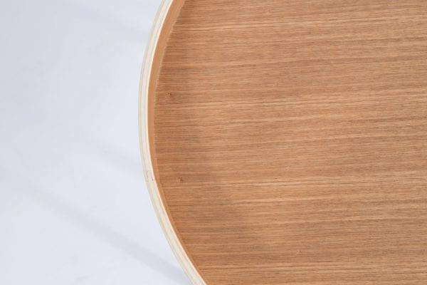 Bijzettafel Oak Tray modern design uit de Zuiver meubel collectie - 2300003