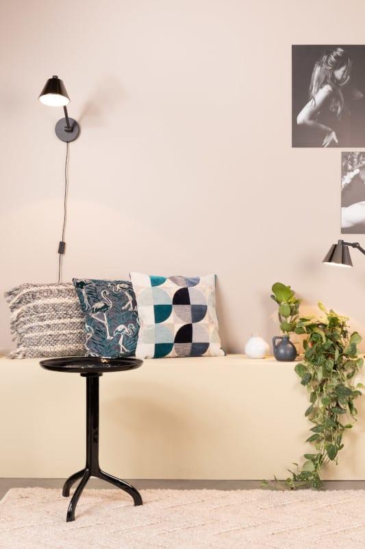 Bijzettafel Shiny Liz Black modern design uit de Zuiver meubel collectie - 2300167