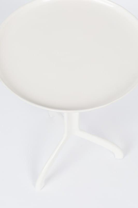 Bijzettafel Shiny Liz White modern design uit de Zuiver meubel collectie - 2300168