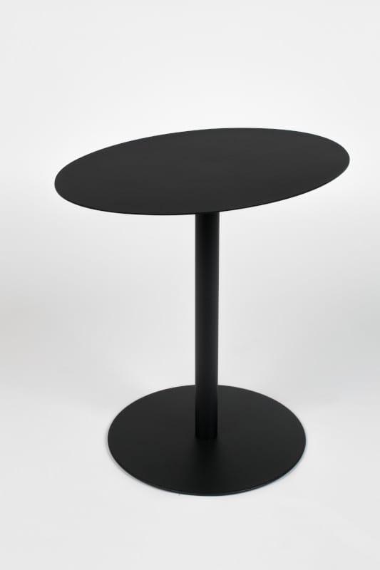 Bijzettafel Snow Black Oval modern design uit de Zuiver meubel collectie - 2300154