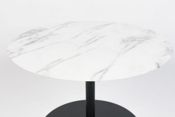 Bijzettafel Snow Marble Round M modern design uit de Zuiver meubel collectie - 2300151