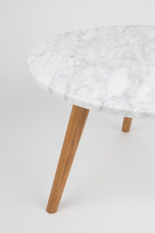 Bijzettafel White Stone L modern design uit de Zuiver meubel collectie - 2300008