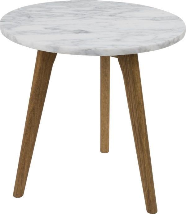 Bijzettafel White Stone M modern design uit de Zuiver meubel collectie - 2300009