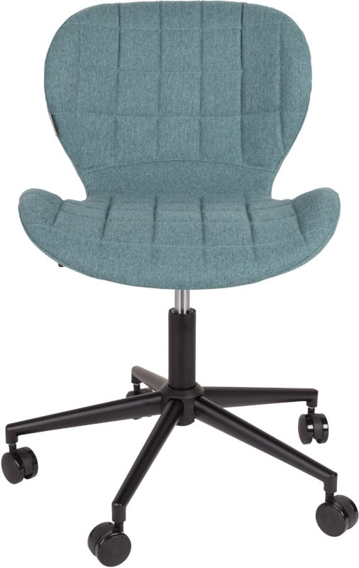Bureaustoel Omg Black/Blue modern design uit de Zuiver meubel collectie - 1300002