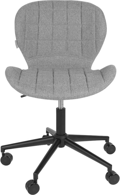 Bureaustoel Omg Black/Grey modern design uit de Zuiver meubel collectie - 1300001