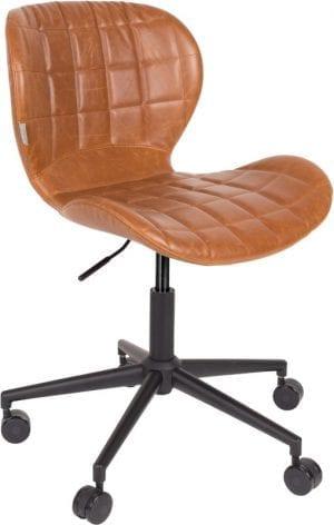 Bureaustoel Omg Ll Brown modern design uit de Zuiver meubel collectie - 1300006