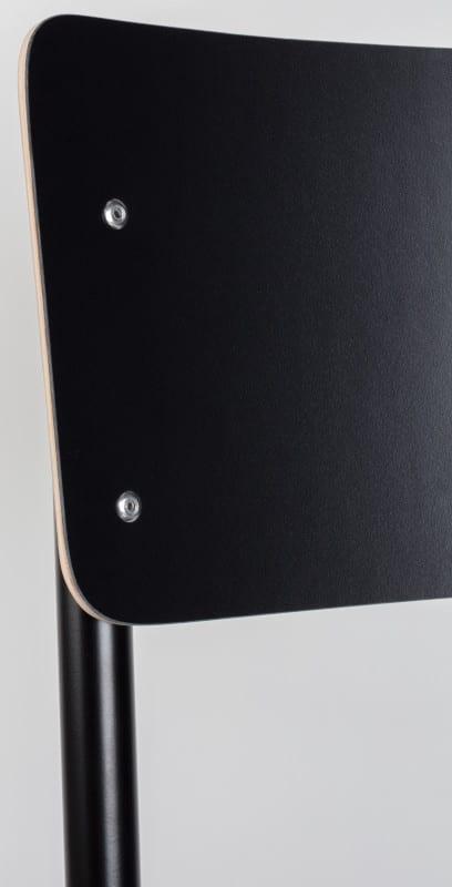 Eetkamerstoel Back To School Hpl Black modern design uit de Zuiver meubel collectie - 1008201