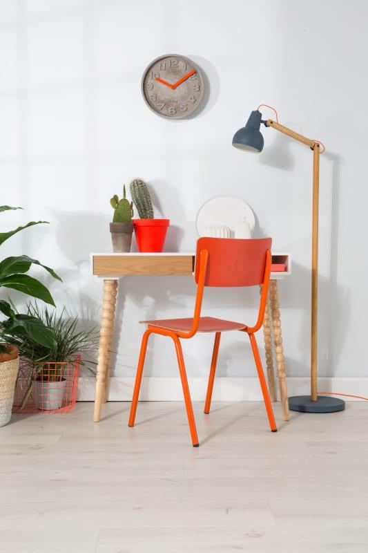 Eetkamerstoel Back To School Hpl White modern design uit de Zuiver meubel collectie - 1008202