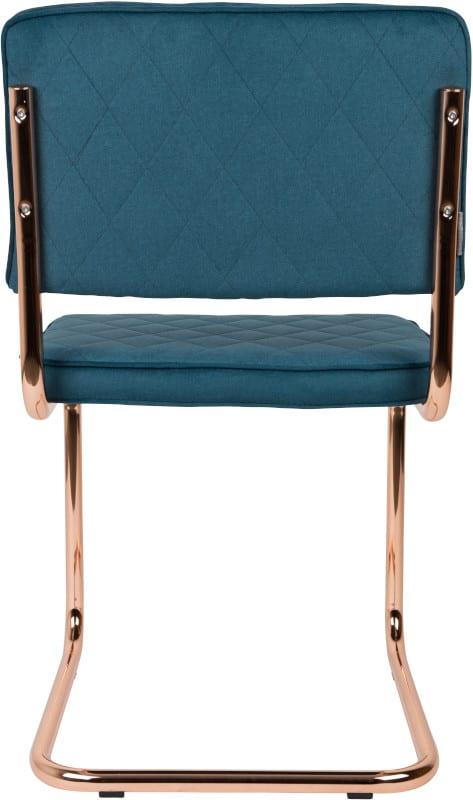Eetkamerstoel Diamond Emerald Green modern design uit de Zuiver meubel collectie - 1100272