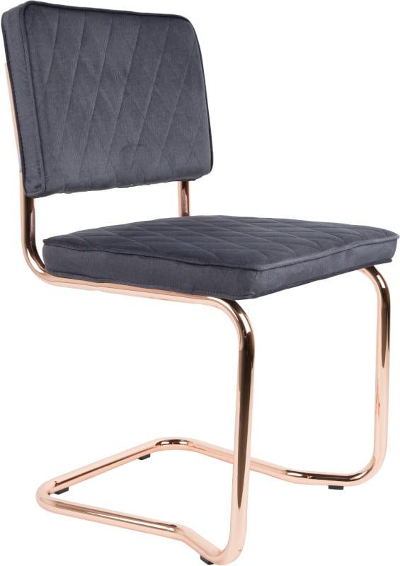 Eetkamerstoel Diamond Kink Pebble Grey modern design uit de Zuiver meubel collectie - 1100277