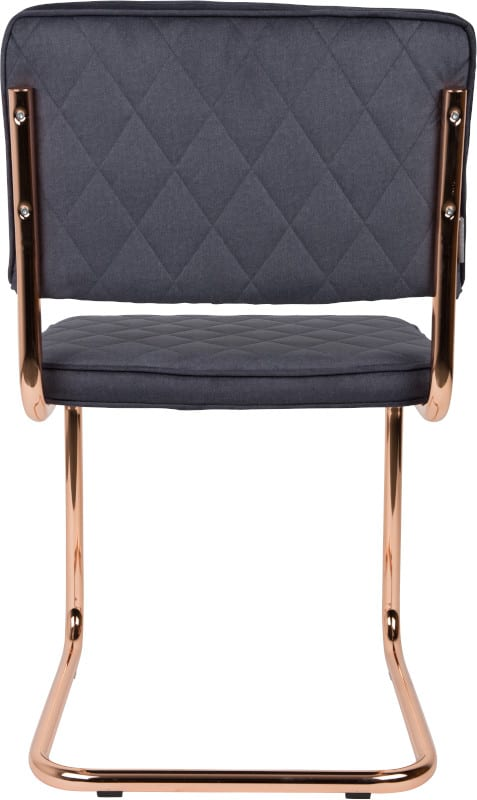 Eetkamerstoel Diamond Pebble Grey modern design uit de Zuiver meubel collectie - 1100273