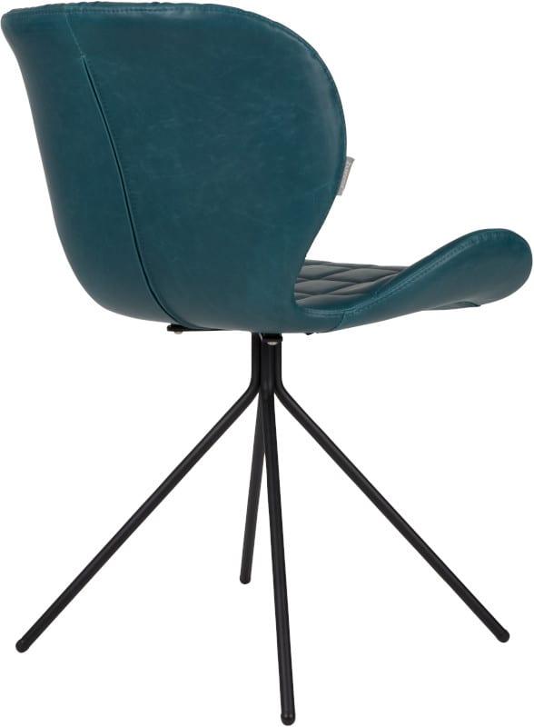 Eetkamerstoel Omg Ll Petrol modern design uit de Zuiver meubel collectie - 1100250