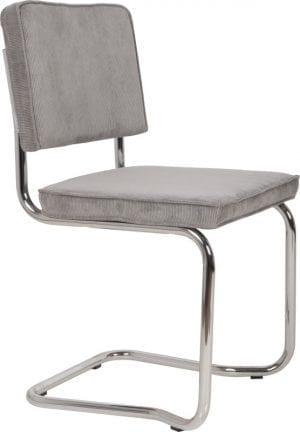 Eetkamerstoel Ridge Kink Rib Cool Grey 32A modern design uit de Zuiver meubel collectie - 1100077