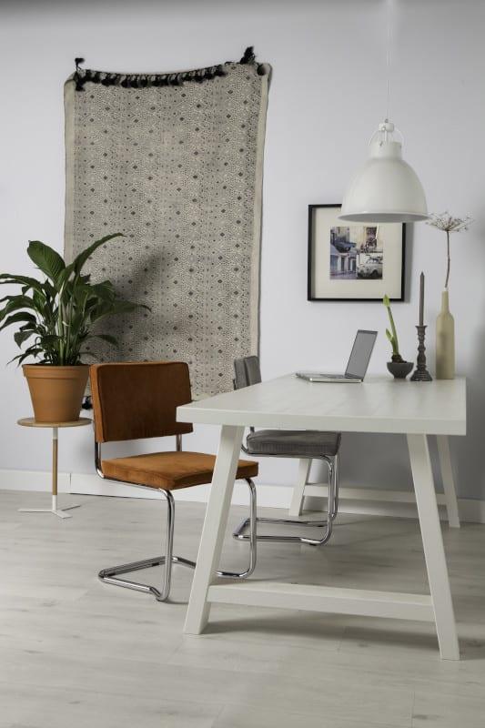 Eetkamerstoel Ridge Kink Rib Green 25A modern design uit de Zuiver meubel collectie - 1100063