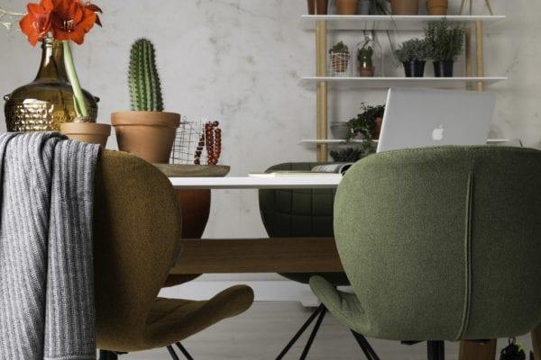 Eetkamerstoel Omg Black modern design uit de Zuiver meubel collectie - 1100170