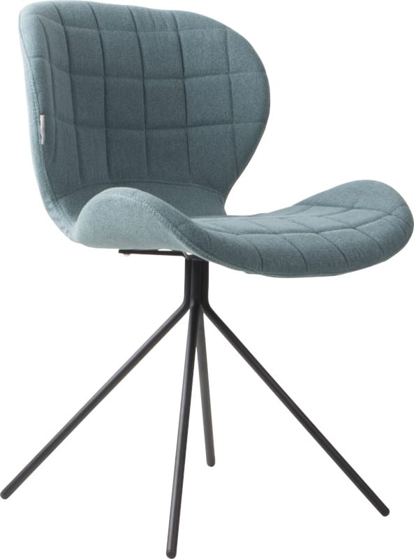 Eetkamerstoel Omg Blue modern design uit de Zuiver meubel collectie - 1100173