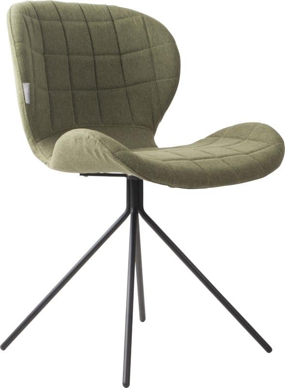 Eetkamerstoel Omg Green modern design uit de Zuiver meubel collectie - 1100172