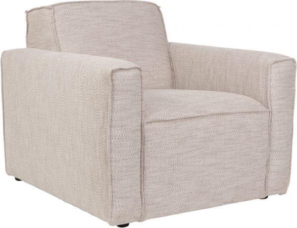 Bank Bor 1-Seater Latte modern design uit de Zuiver meubel collectie - 3200121