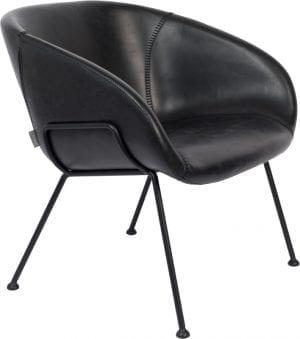 Fauteuil Feston Black modern design uit de Zuiver meubel collectie - 3100072