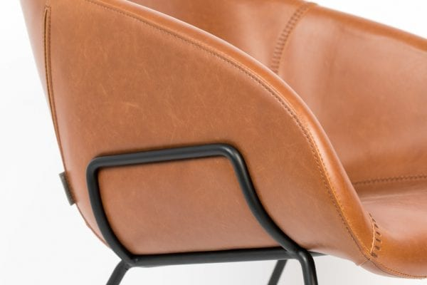 Fauteuil Feston Brown modern design uit de Zuiver meubel collectie - 3100073