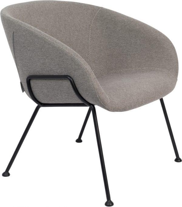 Fauteuil Feston Fab Grey modern design uit de Zuiver meubel collectie - 3100074
