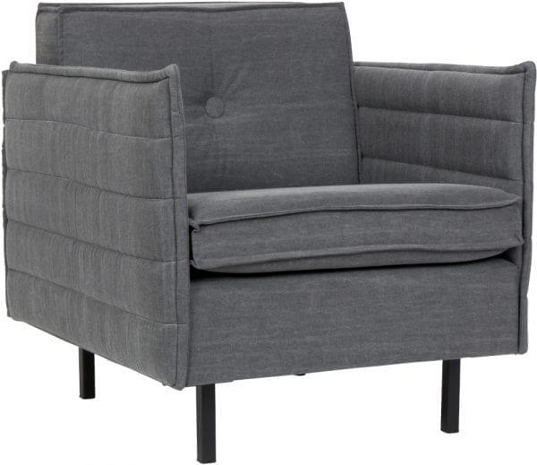 Bank Jaey 1-Seater Stone Grey 67 modern design uit de Zuiver meubel collectie - 3200069