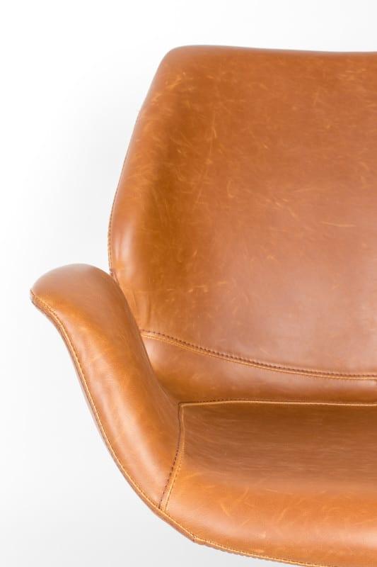 Fauteuil Nikki All Brown modern design uit de Zuiver meubel collectie - 3100066