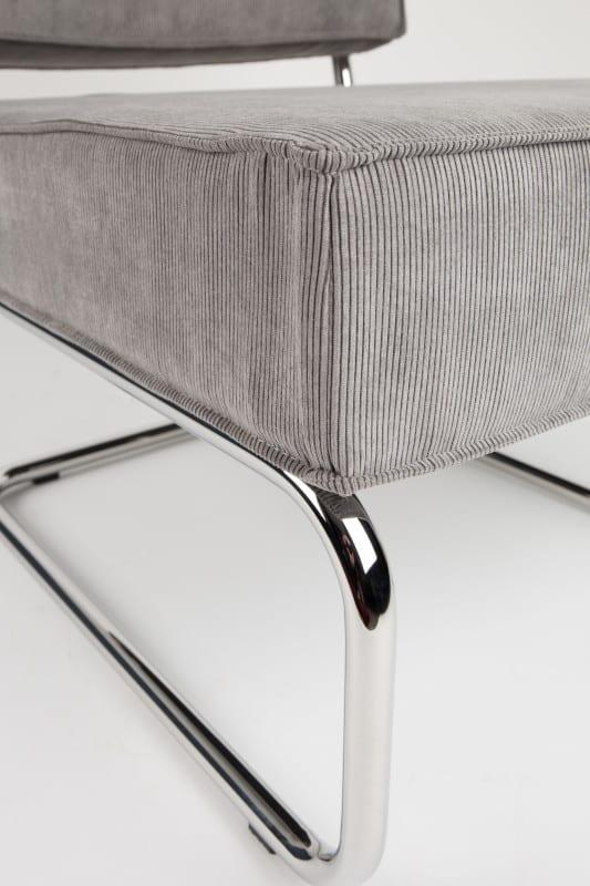 Fauteuil Ridge Rib Arm Cool Grey 32A modern design uit de Zuiver meubel collectie - 3100032