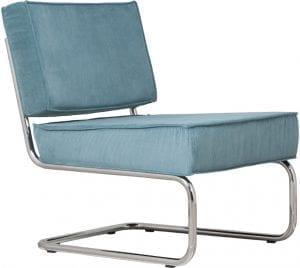 Fauteuil Ridge Rib Blue 12A modern design uit de Zuiver meubel collectie - 3100011