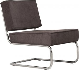 Fauteuil Ridge Rib Grey 6A modern design uit de Zuiver meubel collectie - 3100009