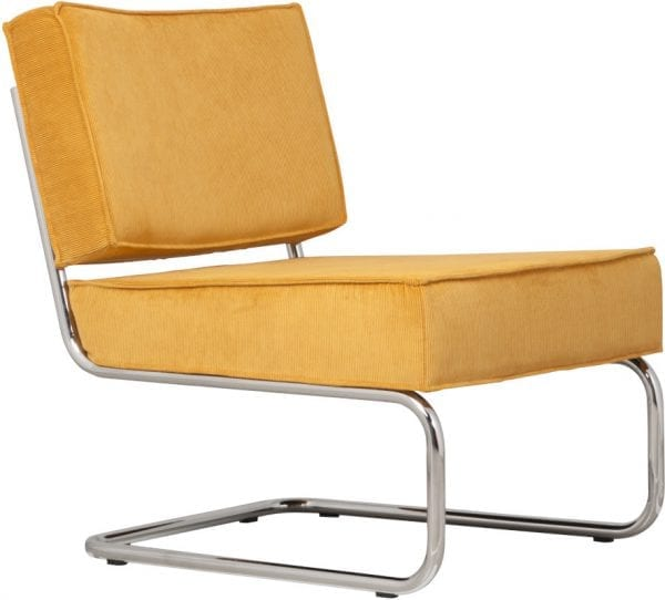 Fauteuil Ridge Rib Yellow 24A modern design uit de Zuiver meubel collectie - 3100013