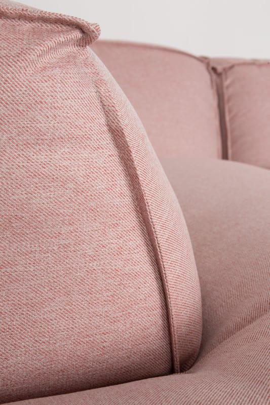 Bank Fat Freddy Left Salsa Salmon modern design uit de Zuiver meubel collectie - 3200073