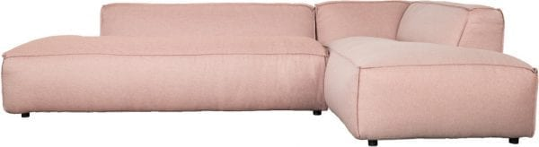 Bank Fat Freddy Right Salsa Salmon modern design uit de Zuiver meubel collectie - 3200083