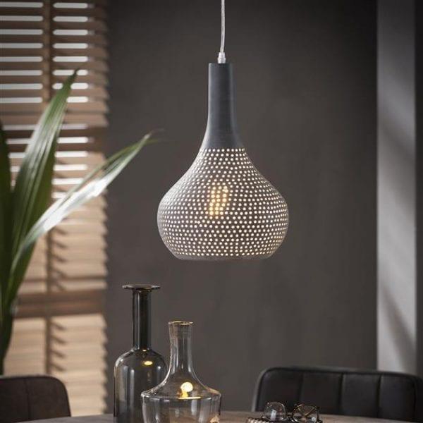 Hanglamp 1x industry concrete kegel/Grijs. 8142/48 uit de hanglampen collectie van Zijlstrakleinmeubelen & verlichting bij Löwik Meubelen