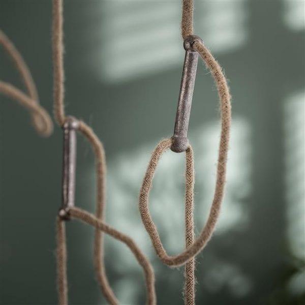 Hanglamp 5L loop/Antiek Nikkel. 7802/31A uit de hanglampen collectie van Zijlstrakleinmeubelen & verlichting bij Löwik Meubelen