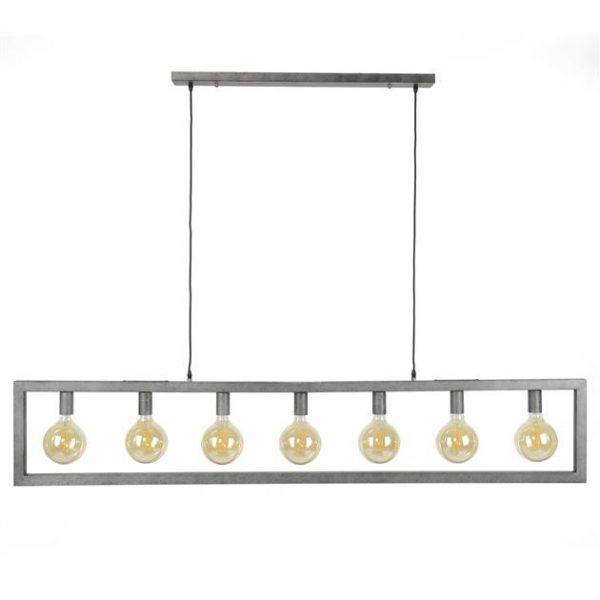 Hanglamp 7L steps / Oud zilver. 7785/29 uit de hanglampen collectie van Zijlstrakleinmeubelen & verlichting bij Löwik Meubelen