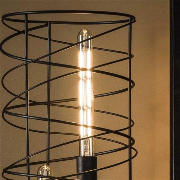 Lichtbron LED filament buis 30 cm - E27 4W 2100K 280lm dimbaar / Amberkleurig glas. 8475/39A uit de lichtbronnen collectie van Bullcraft kleinmeubelen & verlichting bij Löwik Meubelen