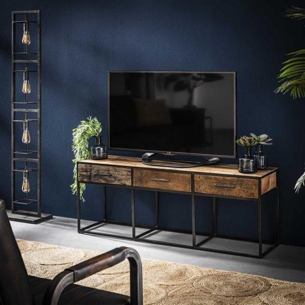 TV-meubel Float 3L / Robuust hardhout. 2264/20 uit de opbergmeubelen collectie van Bullcraft kleinmeubelen & verlichting bij Löwik Meubelen