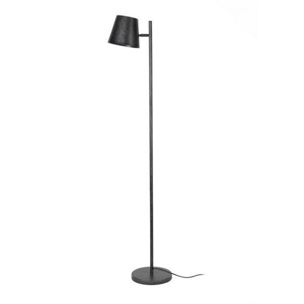 Vloerlamp 1L verstelbare metalen kap / Charcoal. 7945/76 uit de vloerlampen collectie van Zijlstrakleinmeubelen & verlichting bij Löwik Meubelen