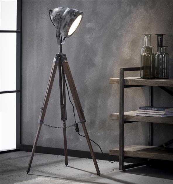 Grijs. 8208/48 uit de vloerlampen collectie van Zijlstrakleinmeubelen & verlichting bij Löwik Meubelen